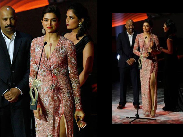Deepika Padukone iifa Awards 2013 gown