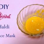 DIY Pre-Bridal Haldi Besan Ubtan Recipe Tutorial