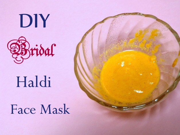 DIY Bridal Haldi Besan Face Mask Recipe