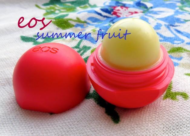 EOS Lip Balm Summer Fruit Review photo