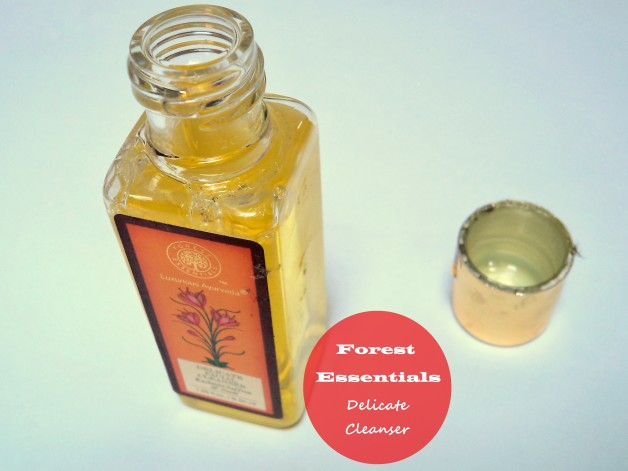 Forest Essentials Kashmiri Saffron and Neem Delicate facial Cleanser