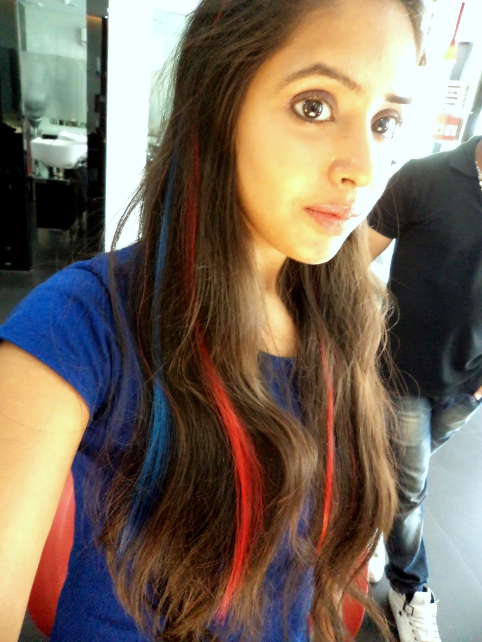 Lakme Absolute Coloured Hair Extensions In Three Colours My Experience