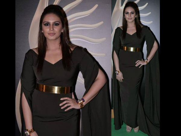 Huma Qureshi iifa Awards 2013 gown