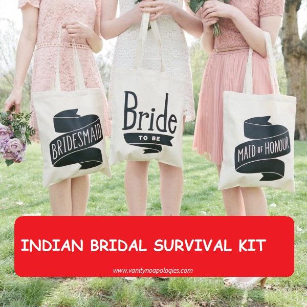 Indian Bridal Emergency Makeup Kit