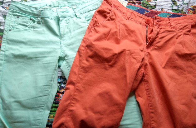 Coloured jeans in India fashion blog