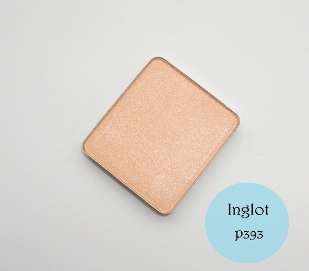 Inglot Freedom System Eyeshadow Pearl 393 Swatch Review