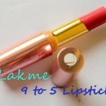Lakme 9 to 5 Lip Color Review and Swatches: Pink Colar