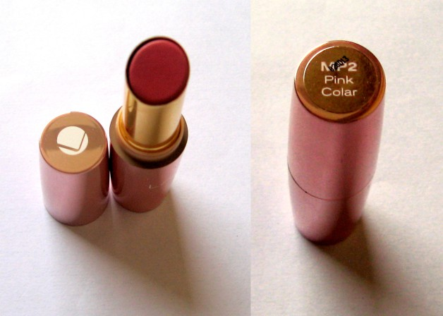 Lakme 9 to 5 Lipstick Review Pink Colar