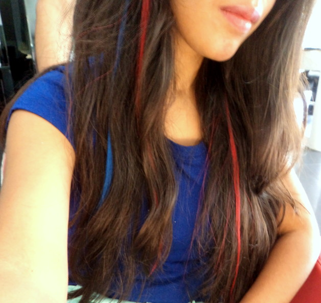 Lakme Absolute Coloured Hair Extensions Experience