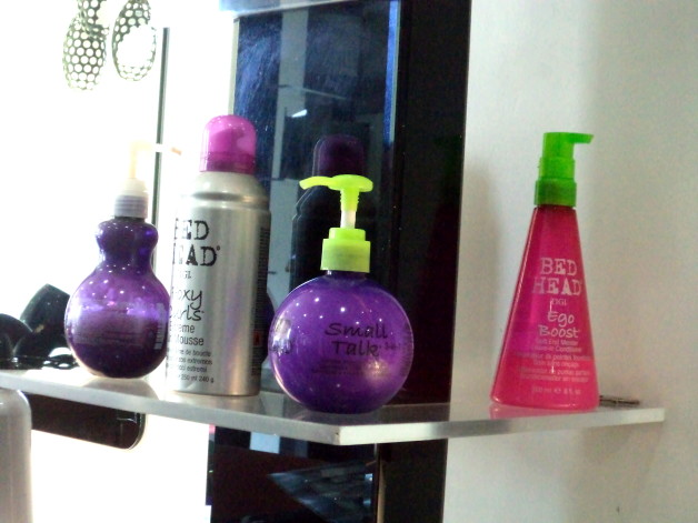 TIGI Hair Products at Lakme Salon