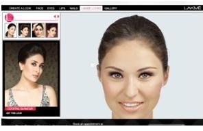lakme makeover app online