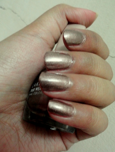 Lakme True Wear Nail Color 241 Metallics