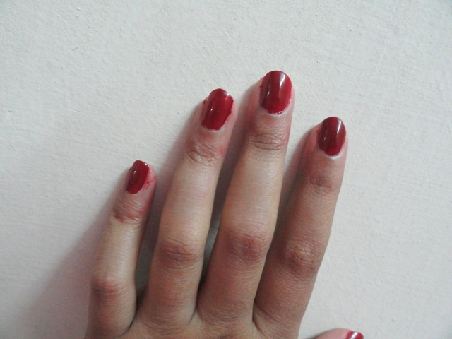 Lakme True Wear Nail Color 241 Swatches