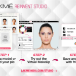 Lakme Online Makeover Application: Reinvent Studio