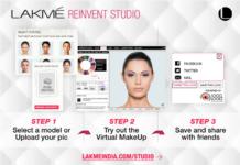 lakme reinvent studio makeover app