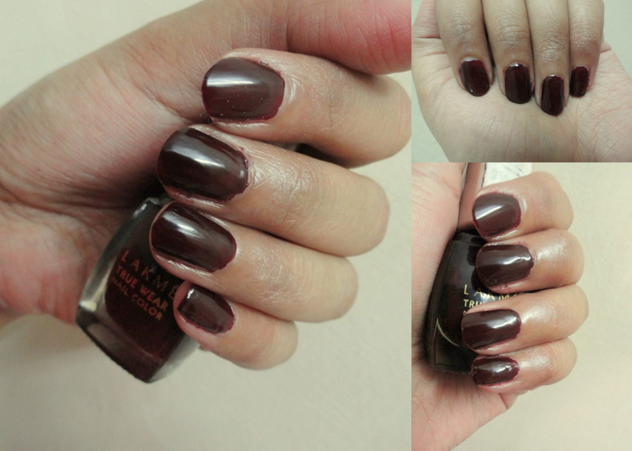 Lakme True Wear Nail Color - Manish Malhotra, Metallics, Deep Blush ...