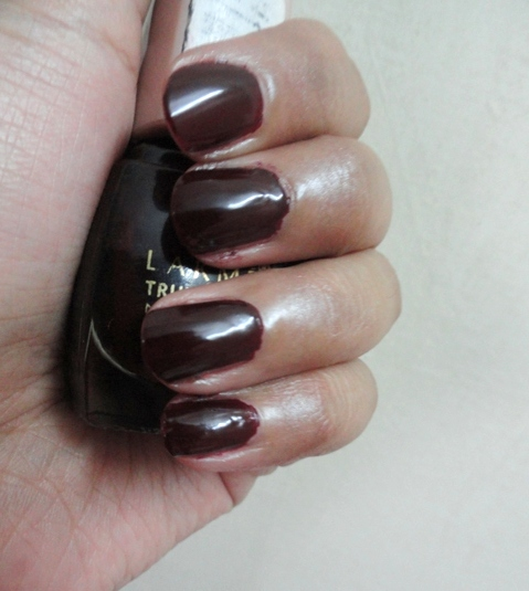 Lakme True Wear Nail Color 403 review