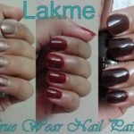 Lakme True Wear Nail Color – Manish Malhotra, Metallics, Deep Blush Maroon