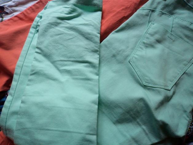 Zara pastel trousers fashion blogger