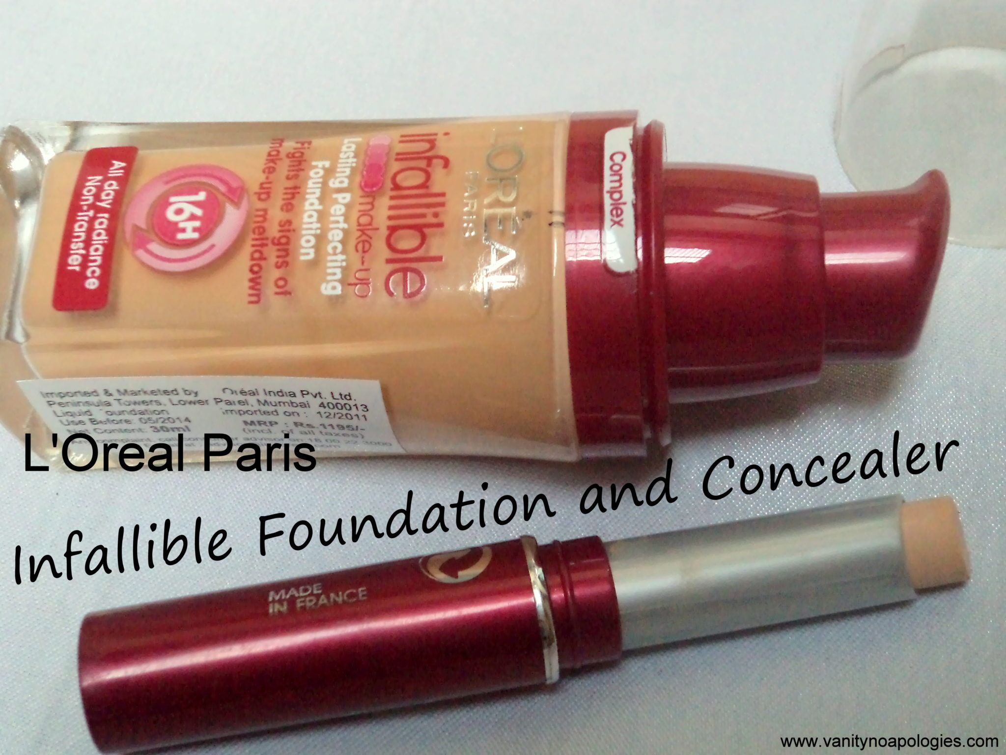 best foundation and concealer for oily skin