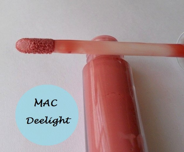Mac Deelight Cremesheen Glass Swatches and Review