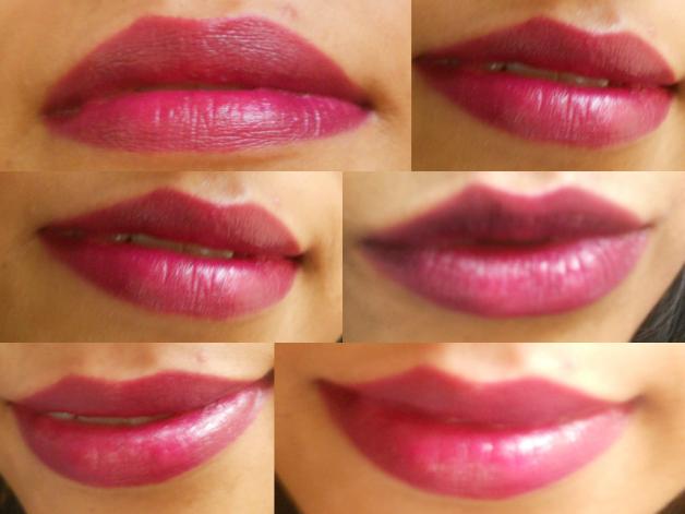 Mac Rebel Lipstick Lip Swatch Photo