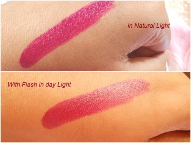 Mac Rebel Lipstick Swatch Photo