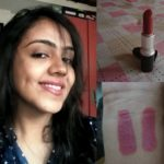 Mac Twig Lipstick Swatch, Review, FOTD
