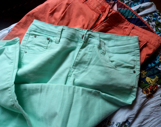 Summer Pastel Trend in India Mint Pants