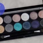 MUA 12 Shade Dusk Til Dawn Palette Swatches, Review, EOTD
