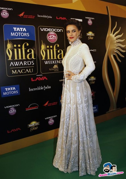 Neha Dhupia iifa Awards 2013 gown