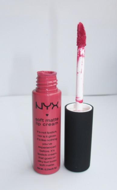 NYX Soft matte lip cream San Paulo Review