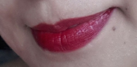 Revlon Just Bitten Lipstain Plus Balm Gothic Swatch