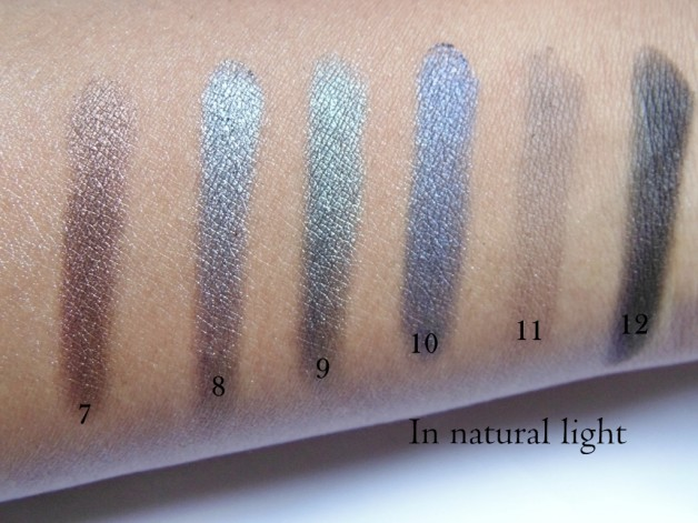 Sleek i divine storm palette swatches