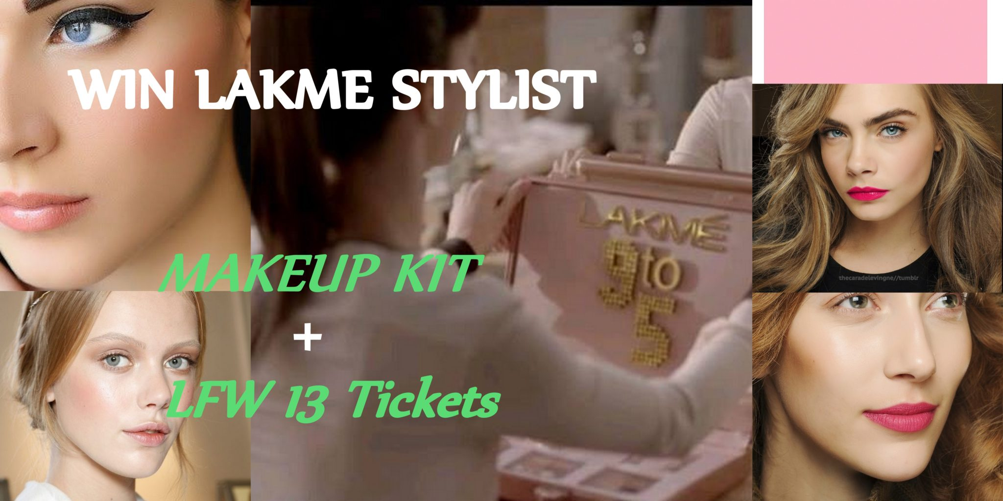 Win Lakme Absolute 9 to 5 Makeup Products