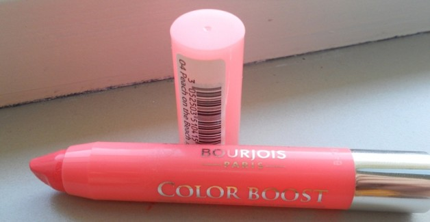 Bourjois Color Boost Lip Crayon- Peach on the Beach Review