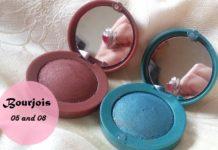Bourjois Paris Intense Extrait eyeshadows 05 and 08 review