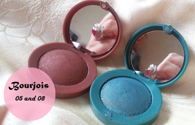 Bourjois Paris Intense Extrait eyeshadows 05 and 08 review