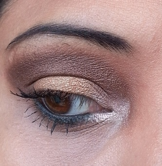 Bourjois Paris Intense Extrait eyeshadows 05 and 08 eye makeup