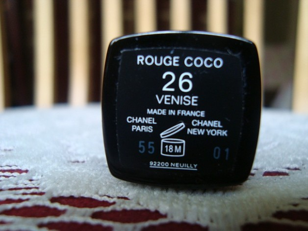 Chanel Rouge Coco Hydrating creme lip color 26 Venise