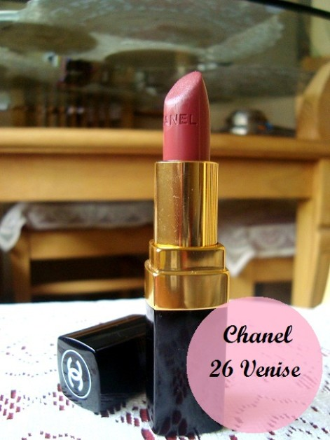 Chanel Rouge Coco Hydrating creme lip color 26 Venise review