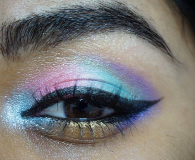 MUA Poptastic Eyeshadow Palette eye makeup