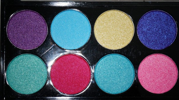 MUA Poptastic Eyeshadow Palette Review Photo
