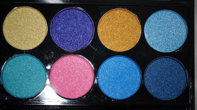 MUA Poptastic Eyeshadow Palette Review Photos