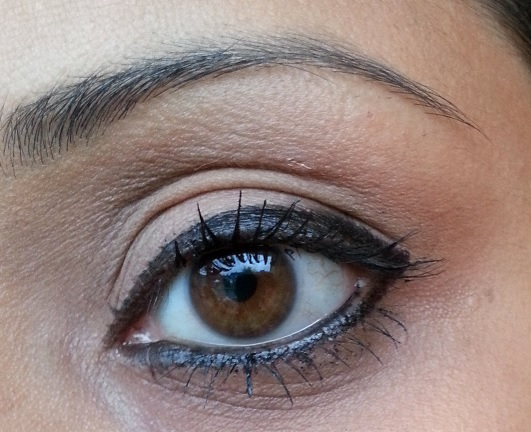 Rimmel Scandaleyes Waterproof Kohl Eyeliner Swatch on eyes