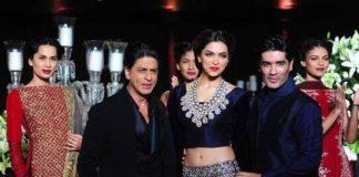Shah Rukh Khan Deepika Padukone Day 5 Delhi Couture Week 2013