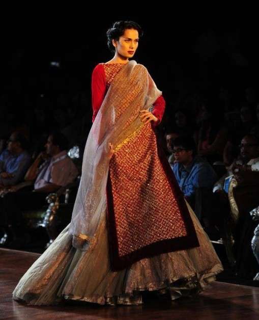 Sonalika Sahay Manish Malhotra Day 5 Delhi Couture Week 2013