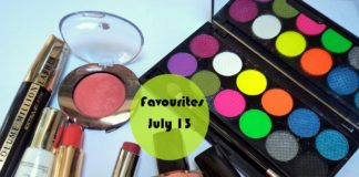 Favourite makeup beauty products India