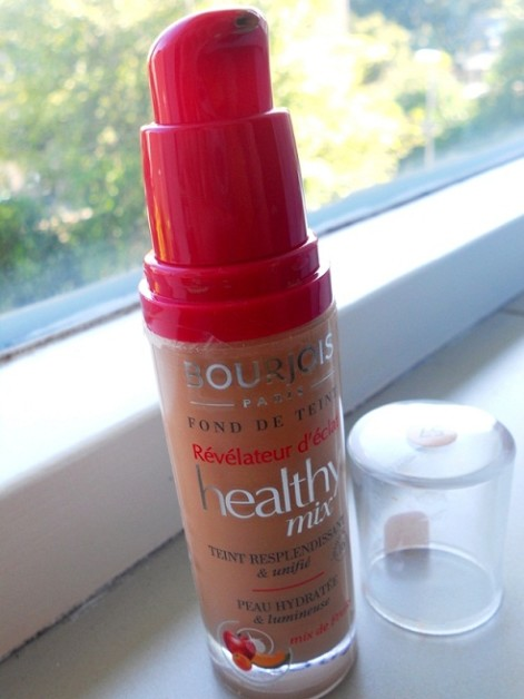 Bourjois Radiance Reveal Healthy Mix foundation Review