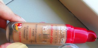 bourjois healthy mix foundation review swatches